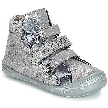 Zapatos Niña Botas de caña baja Citrouille et Compagnie JODIL Gris