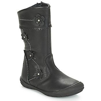 Zapatos Niña Botas urbanas Citrouille et Compagnie JAMATIS Negro