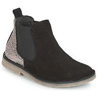 Zapatos Niña Botas de caña baja Citrouille et Compagnie FIGOULI Negro / Glitter