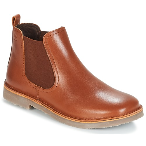 Zapatos Niños Botas de caña baja Citrouille et Compagnie JOVETTE Camel
