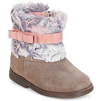 Zapatos Niña Botas de caña baja Citrouille et Compagnie JERRADJE Gris / Rosa