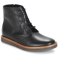 Zapatos Niños Botas de caña baja Citrouille et Compagnie JENKI Negro