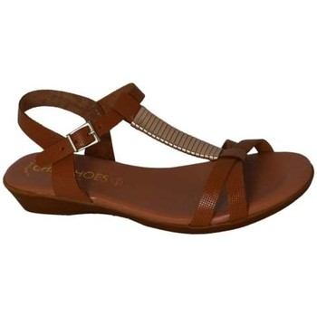 Zapatos Mujer Sandalias Oh My Sandals 3848 roble roble