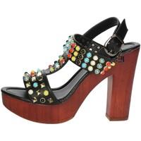 Zapatos Mujer Sandalias Laura Biagiotti 1010-X3 Negro