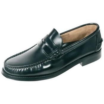 Zapatos Hombre Mocasín Cbp - Conbuenpie Mocasin de hombre de piel by Urban Jungles Negro