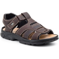 Zapatos Hombre Sandalias Morxiva Shoes Sandalia (talla 47 - 48) de hombre de piel by Morxiva Marrón