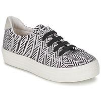 Zapatos Niña Zapatillas bajas Shwik STEP LO CUT Negro / Blanco