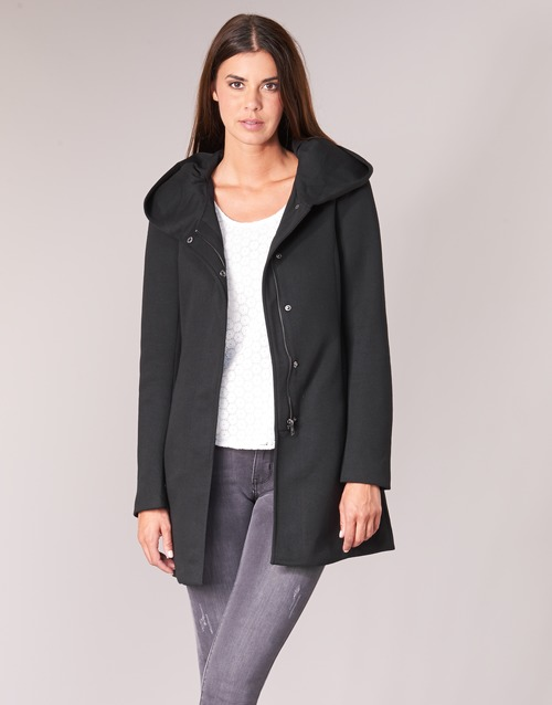 textil Mujer Abrigos Only ONLSEDONA Negro