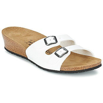 Zapatos Mujer Zuecos (Mules) Papillio ANNE Barniz / Blanco