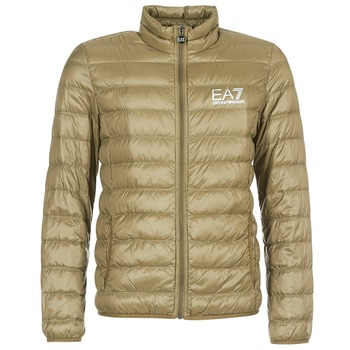 textil Hombre plumas Emporio Armani EA7 TRAIN CORE ID M DOWN LIGHT Marrón