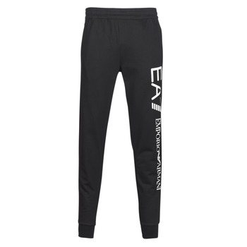 textil Hombre Pantalones de chándal Emporio Armani EA7 TRAIN TRITONAL M PANTS CH BR Negro / Blanco