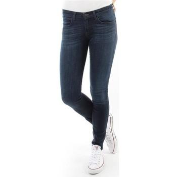 textil Mujer Vaqueros slim Wrangler Spodnie Damskie CORYNN BLUE SHELTER W25FU466N azul