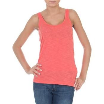 textil Mujer Camisetas sin mangas Wrangler Essential Tanks W7244GRHJ rosado