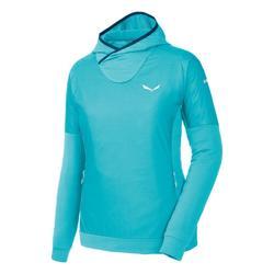 textil Mujer Polaire Salewa Bluza  Pedroc PTC Alpha W Hoody 26355 azul