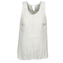 textil Mujer camisetas sin mangas See U Soon CHELSEA Blanco / Gris