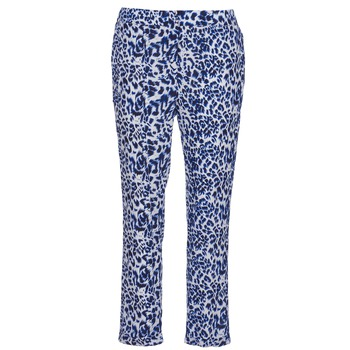 textil Mujer Pantalones fluidos See U Soon CLARA Azul / Negro
