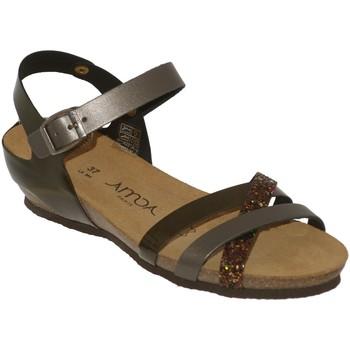 Zapatos Mujer Sandalias Amoa Tulle Gris satinado