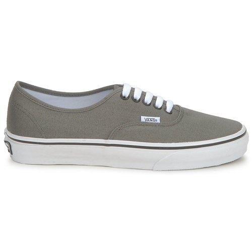 Vans Authentic Bajas Gris Zapatillas Zapatos tsChQxdr