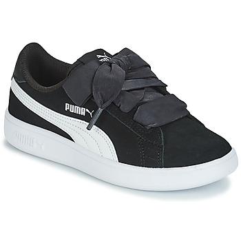 Zapatos Niños Zapatillas bajas Puma SMASH V2 RIB PS Negro