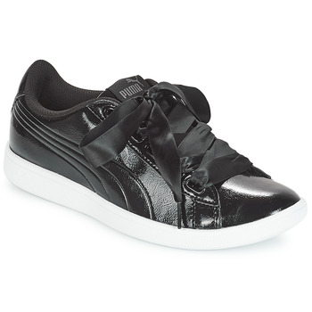 Zapatos Mujer Zapatillas bajas Puma VIKKY RIBBON P Negro