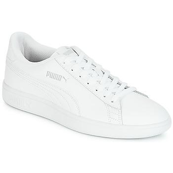 Zapatos Hombre Zapatillas bajas Puma SMASH Blanco
