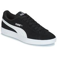 Zapatos Niños Zapatillas bajas Puma SD V2 JR BOY182 Negro