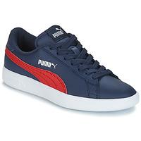 Zapatos Niños Zapatillas bajas Puma SMASH V2L JR182 Marino