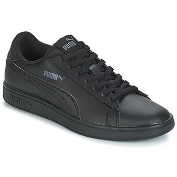 Zapatos Hombre Zapatillas bajas Puma PUMA SMASH V2 L Negro