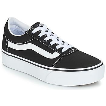 Zapatos Mujer Zapatillas bajas Vans VWM WARD PF Negro