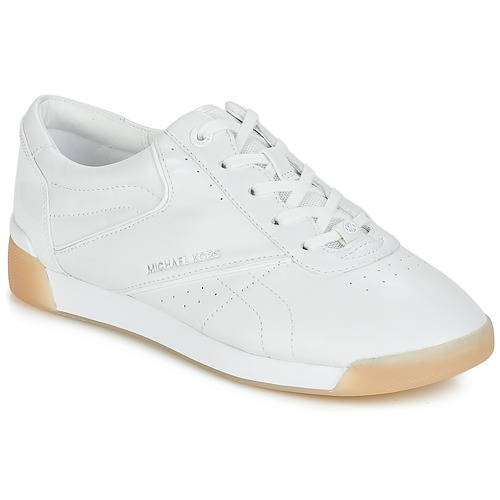 Zapatos Mujer Zapatillas bajas MICHAEL Michael Kors ADDIE LACE UP Blanco