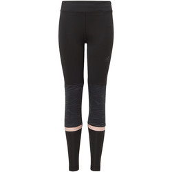 textil Niña leggings adidas Performance Mallas 1/1 Training Negro / Gris / Naranja