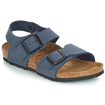 Zapatos Niños Sandalias Birkenstock NEW YORK Azul