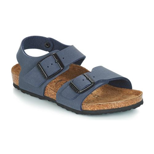 Zapatos Niño Sandalias Birkenstock NEW YORK Azul