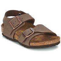 Zapatos Niños Sandalias Birkenstock NEW YORK Moka