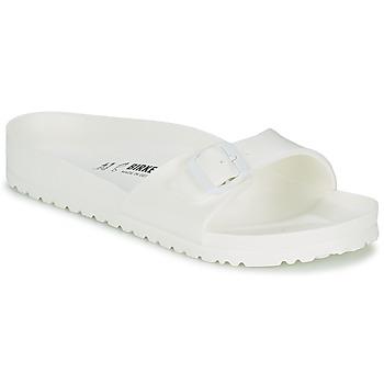 Zapatos Hombre Zuecos (Mules) Birkenstock MADRID EVA Blanco