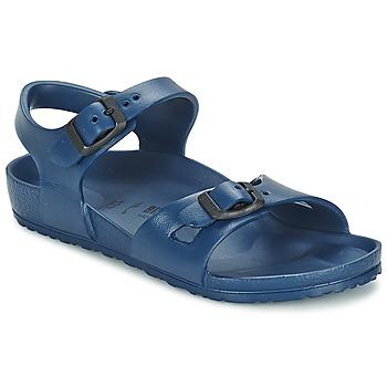 Zapatos Niños Sandalias Birkenstock RIO EVA Marino