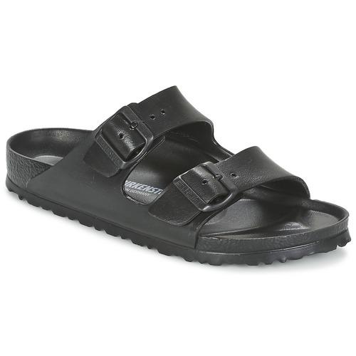 Zapatos Mujer Zuecos (Mules) Birkenstock ARIZONA EVA Negro