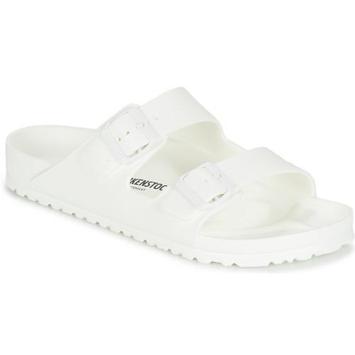 Zapatos Hombre Zuecos (Mules) Birkenstock ARIZONA EVA Blanco