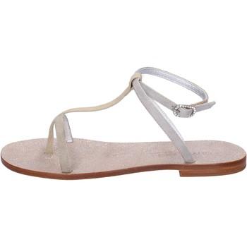 Zapatos Mujer Sandalias Eddy Daniele AW296 Beige