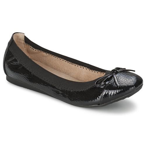 Zapatos Mujer Bailarinas-manoletinas Moony Mood BOLALA Negro / Barniz