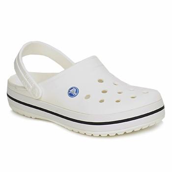 Zapatos Zuecos (Clogs) Crocs CROCBAND Blanco