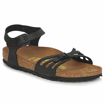 Zapatos Mujer Sandalias Birkenstock BALI Negro / Mat