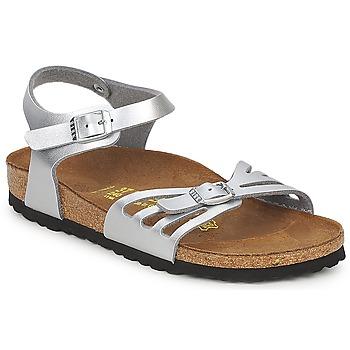 Zapatos Mujer Sandalias Birkenstock BALI Plata
