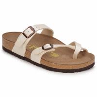 Zapatos Mujer Zuecos (Mules) Birkenstock MAYARI Crema