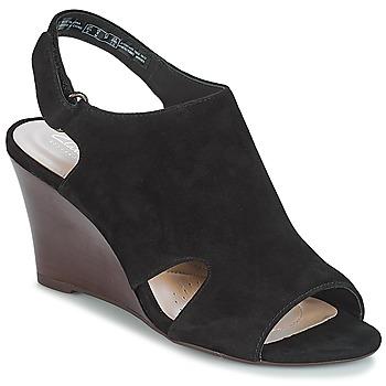 Zapatos Mujer Sandalias Clarks Raven Mist Negro