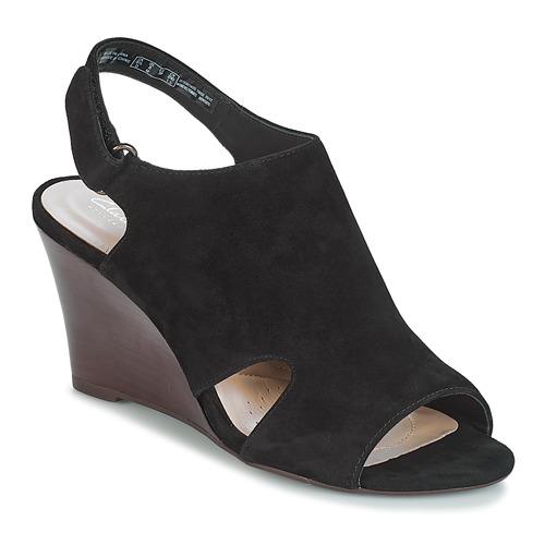 Gran descuento Zapatos especiales Clarks Raven Mist Negro