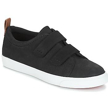 Zapatos Mujer Zapatillas bajas Clarks Glove Daisy Negro / Combi / Negro