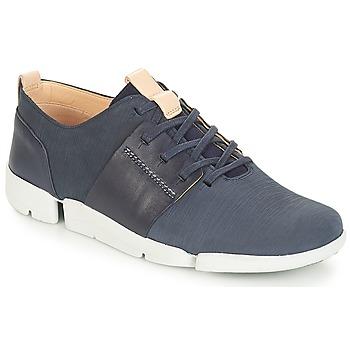 Zapatos Mujer Zapatillas bajas Clarks Tri Caitlin Navy / Combi