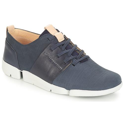 Venta de liquidación de temporada Zapatos especiales Clarks Tri Caitlin Navy / Combi