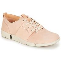 Zapatos Mujer Zapatillas bajas Clarks Tri Caitlin Nude / Pink